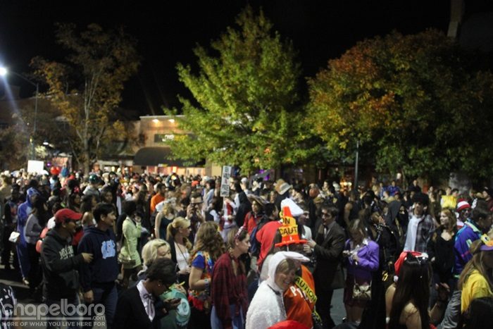 Homegrown Halloween Draws 25,000 to Chapel Hill