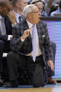 Roy Williams on the sidelines (Todd Melet)