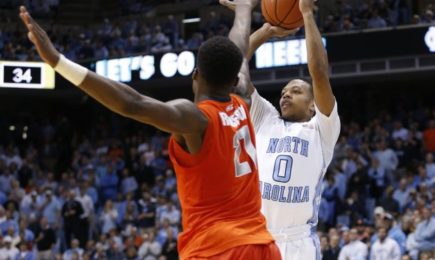 Erratic Tar Heels Persevere Past Orange Zone