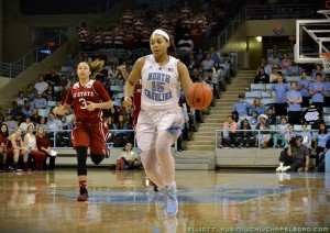 Allisha Gray has been key to UNC's success this season (Elliott Rubin)