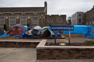 Kville has hosted tenting ticket hopefuls for nearly 30 years (Duke Chronicle)