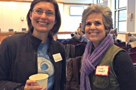 Anna MacDonald Dobbs and guest speaker Annie Baggett