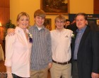It's always great to see the Rice Family! Kathy, Shaun, Bradley and Don