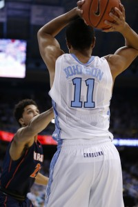 Brice Johnson was one of the lone bright spots for UNC Saturday (Todd Melet)