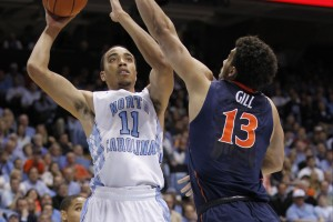 Brice Johnson showed flashes of brilliance, but it wasn't enough against the Cavaliers. (Todd Melet)