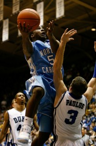 Ty Lawson always enjoyed playing Greg Paulus. (Photo Courtesy Zimbio.com)