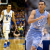 Duke's Tyus Jones  upstaged UNC's Marcus Paige Wed. night. (Getty Images/ News and Observer)