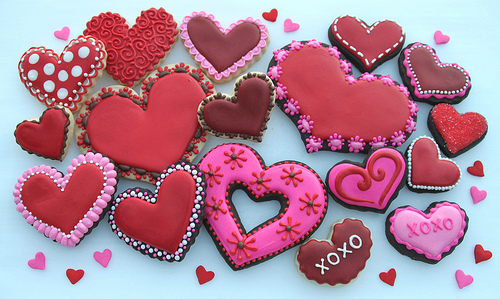 valentine's day cookie decorating - chapelboro, Ideas