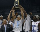The Tar Heels Celebrate Their 2009 NCAA Championship (photo courtesy of The Daily Tar Heel)