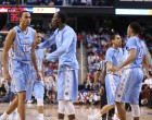 UNC came on strong down the stretch Thursday (Todd Melet)