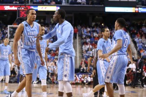 UNC came on strong down the stretch (Todd Melet)