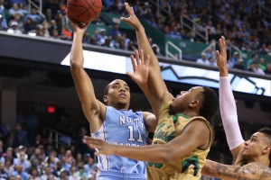 Brice Johnson and the Tar Heels came up just short of an ACC title vs. Notre Dame (Todd Melet)