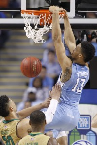 JP Tokoto assaults the rim (Todd Melet)