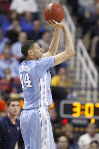 Justin Jackson saved the day for Carolina (Todd Melet)