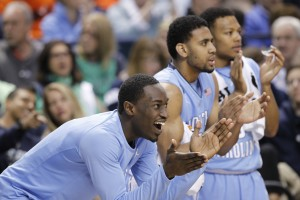 Theo Pinson is back healthy and adds to UNC's depth off the bench (Todd Melet)