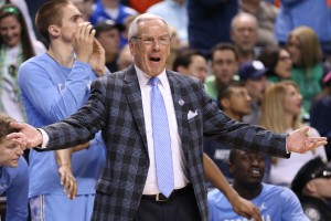 Roy Williams will no doubt be animated in the STAPLES Center (Todd Melet)