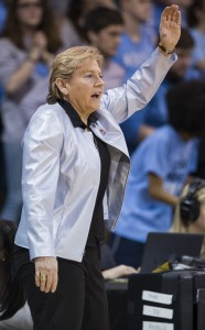Sylvia Hatchell has her Tar Heels back in a familiar place - the Sweet Sixteen. (Smith Hardy)