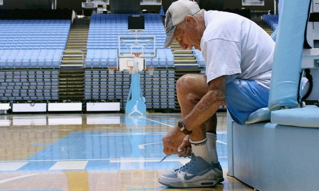 Oldest Living UNC Sports Alum Leads 'Walk for Health'