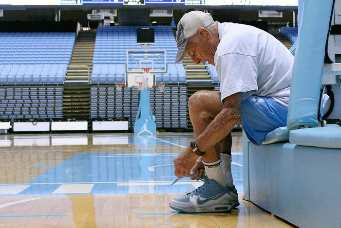 "UNC Legend, 95, Will Lead ""Walk For Health"""