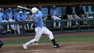 It was Dunbar's first homer of the season. (UNC Athletics)
