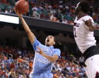 Marcus Paige lays it in the basket (Todd Melet)