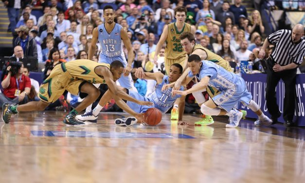 26-3 Second Half Irish Surge Dooms Tar Heels
