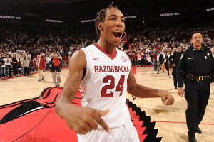 Arkansas guard Michael Qualls is a game-changing player for the Razorbacks (Wholehogsports.com)