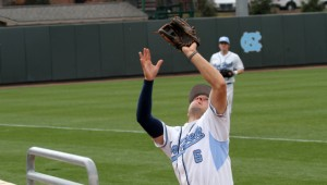 Alex Raburn has played three different infield positions this year at times. (UNC Athletics)