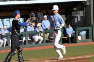Skye Bolt's two late RBI helped JB Bukauskas earn the victory. (UNC Athletics)