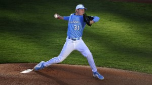 Trent Thornton retired all nine batters he faced on the way to his fourth save of the year. (UNC Athletics)