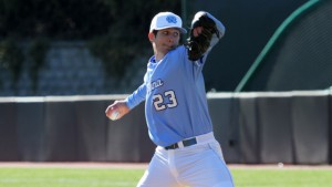 Zac Gallen struggled to follow-up on last week's 12 strikeout masterpiece. (UNC Athletics)
