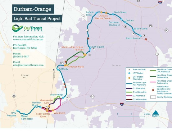 Orange County Commissioners Vote to Move Forward with Light Rail Project
