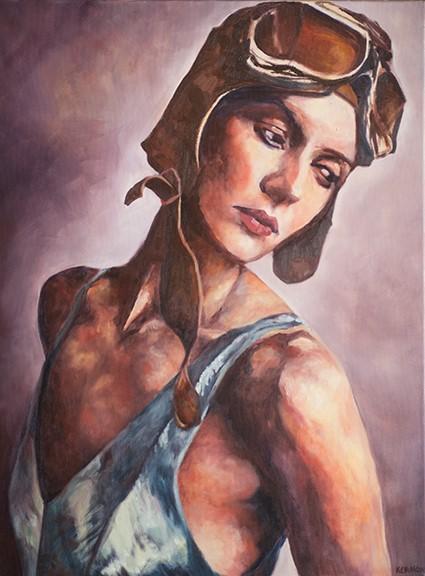 Susan Kermon painting