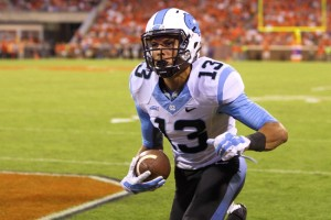 Mack Hollins burst on the scene in 2014 (Chatsports.com)