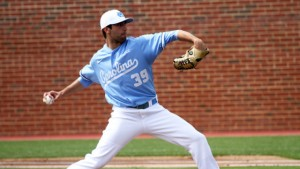 Benton Moss was a bit rusty to begin the game. (UNC Athletics)