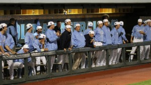 The Tar Heels were unable to rally late. (UNC Athletics)