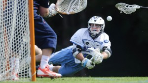 Sankey slides one into the net (UNC Athletics)