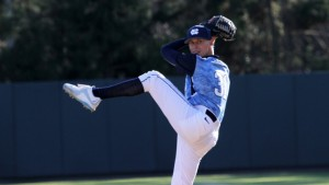 Holding on for the save was Trent Thornton, after another shaky outing by the Carolina bullpen. (UNC Athletics)