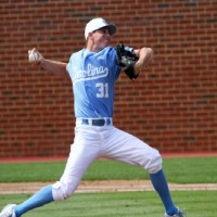 Trent Thornton pitched the final 4.1 innings for UNC en route to picking up the victory. (UNC Athletics)