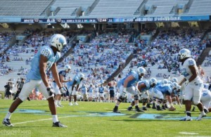 Kenan Stadium game day (Daily Tar Heel)
