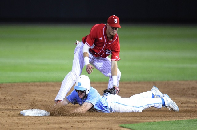 014802b31c7 Walk-Off Hit-By-Pitch Gives Tar Heels Series Win Over NC State ...