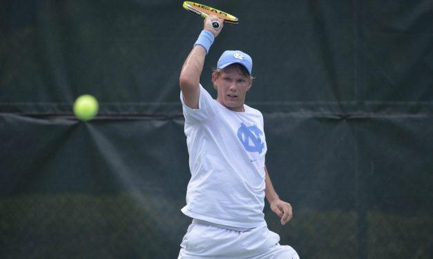 UNC Men's Tennis Receives No. 2 NCAA Tournament Ranking