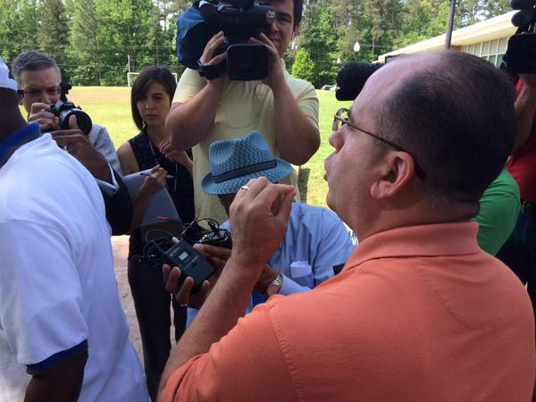 Contentious Words Follow Press Conference Over Confederate Flag Photo
