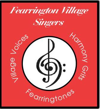 Village-Harmon Logo.clefs.RedCurrent