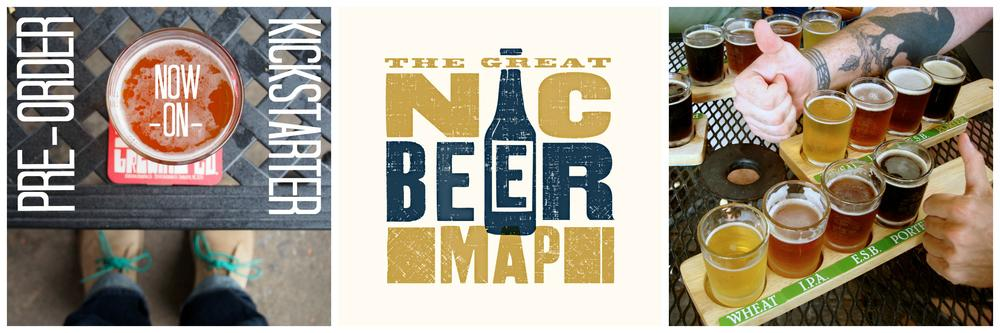 Charlotte Company Creates 'The Great NC Beer Map'