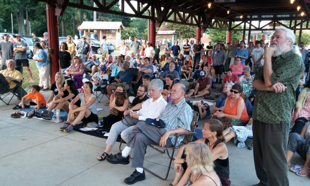 Hundreds 'Feel the Bern' for Sanders in Carrboro