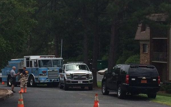 Hazmat Crews Respond to Pinegate Apts After Resident Suffers Chemical Burns