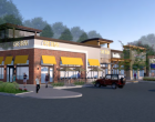 Artist's rendering of the proposed development.