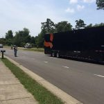 QVC Truck Hits Power Line in Chapel Hill