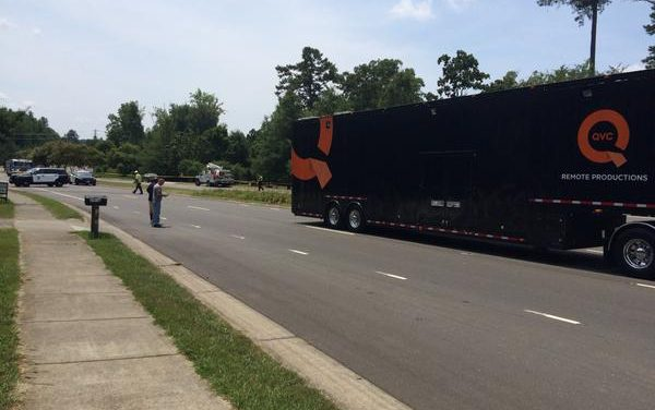QVC Truck Hits Power Line in Chapel Hill